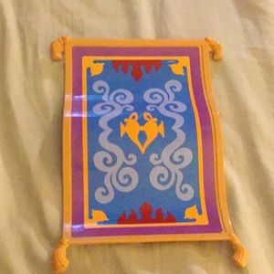 Aladdin Barbie carpet